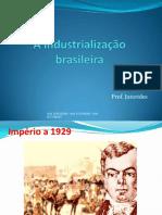 A Industrializacao Brasileira 2017 Jutorides