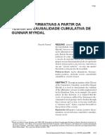 G. MYRDAL -AS AÇÕES AFIRMATIVAS A PARTIR DA CAUSALIDADE CUMULATIVA.pdf