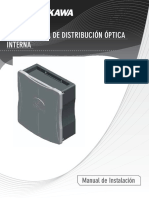 hioja de datos caja de distribucion