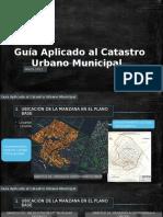 Guía Aplicado Al Catastro Urbano Municipal