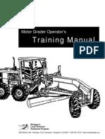 Motor Grader Manual