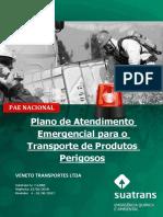 Plano de Atendimento a Emergencias - Produtos Perigosos