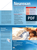 Neurexan Patient Flyer ANG May 2010 7311