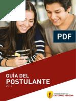 UPCH Guia Del Postulante