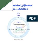 Tarea III Sociologia de La Edc.