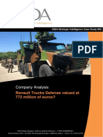 Company Analysis - Renault Trucks Defense valued at  772 million euros ?
