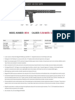 Ruger AR-556 MPR Spec Sheet