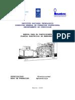 Manual de Plantas Electricas de Emergencia
