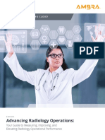 Advancing Radiology Operations Whitepaper - Ambra Health