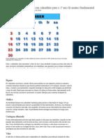 Atividades Matemáticas Com Calendário Para o 1º Ano Do Ensino Fundamental _ EHow Brasil