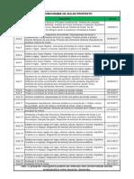 Calendário de Aulas 1