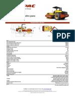 Rolo Compactador PATAS CA250