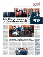 La Provincia Di Cremona 14-09-2017 - Serie B