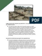 Habilitacion de Acero de Zapatas y Columnas