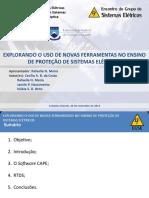 Explorando o Uso de Novas Ferramentas no Ensino de Proteção de Sistemas Elétricos_apresentação_EGSE_2014