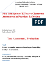 Five principles of effective classroom Assessment.pptx