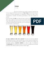El Color de La Cerveza