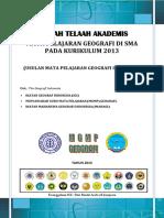 Telaah Akademis Kur 2013 Geografi