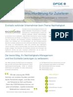 DFGE-Ecovadis Services GER