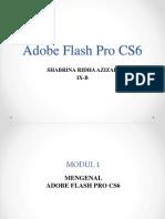Mengenal Adobe Flash Pro Cs6
