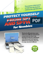 Protect Yourself From Spam and Spyware for Newbies