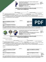 SLU NSTP Form 13- Authorization Forms_1st Sem 2017-2018