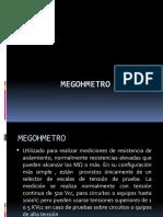 Megohmetro