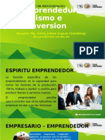 Sesión 01 Emprendedurismo
