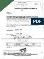 Oficio OAJ-50-1023-17