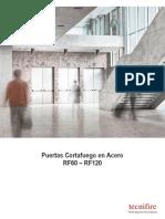 Puertas Cortafuego TECNIFIRE RF60 - RF120
