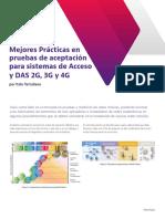 Mejores Practicas en Pruebas de Aceptacion Para Sistemas de Acceso y Das 2g 3g y 4g Es Informe