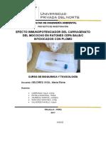 Efecto Inmunopotenciador Del Carragenato Del Mococho en Ratones Cepa Balbc Intoxicados Con Plomo