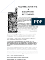 Guerrilla Warfare Liberation Movements Flyer