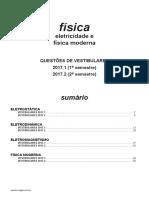 Fisica - Eletricidade e Física Moderna - Vestibulares 2017