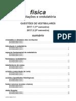 Física - Oscilações e Ondulatória - Vestibulares 2017