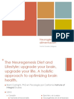 Neurogénesis y alimentacion