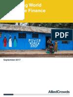 Developing World Alternative Finance 2