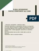 Învelişul Geographic, Vera