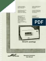 ALC PK121R Operating Manual