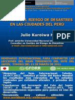 3.- Julio Kuroiwa