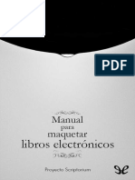 Proyecto Scriptorium - Manual Para Maquetar Libros Electronicos [2398] (r2.1)