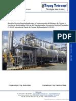 Reporte de Actividades Trabajos D-25102 (Tepuy Telecom)