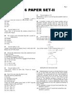 Mechanical Paper Set 2 2016