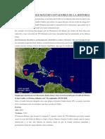 Los 5 Huracanes Más Devastadores de La Historia