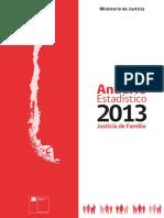 Anuario Estadistico 2013 Justicia de Familia 2013