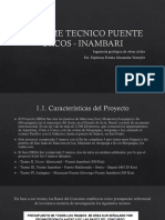 Informe Tecnico Puente Urcos - Inambari