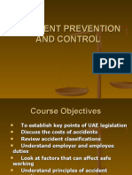 Accident Prevention & Control