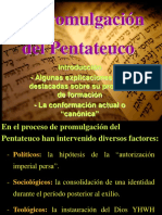 La Promulgaci-n Del Pentateuco