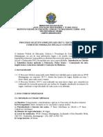 Edital Nº 02-2017 IFCE Campus Maranguape
