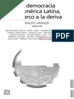 Democratizacion y Conflictos Distributivos en America Latina